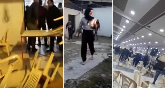 بالفيديو: حفل خطوبة في البقاع تحول إلى تدافع وتكسير ثم اطلاق نار... شاهدوا ما حصل